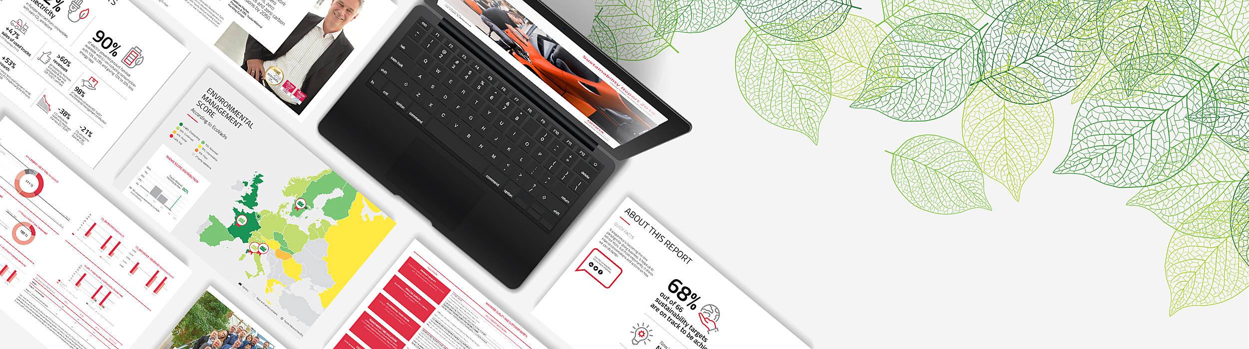 Toyota Material Handling kestävän kehityksen raportti 2019