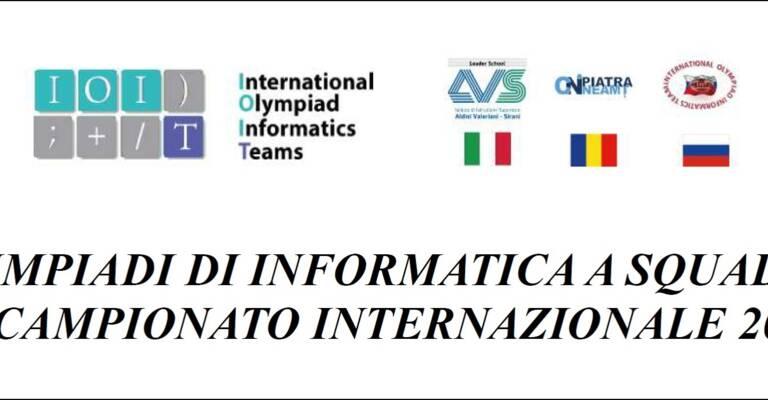 Olimpiadi Internazionali di Informatica