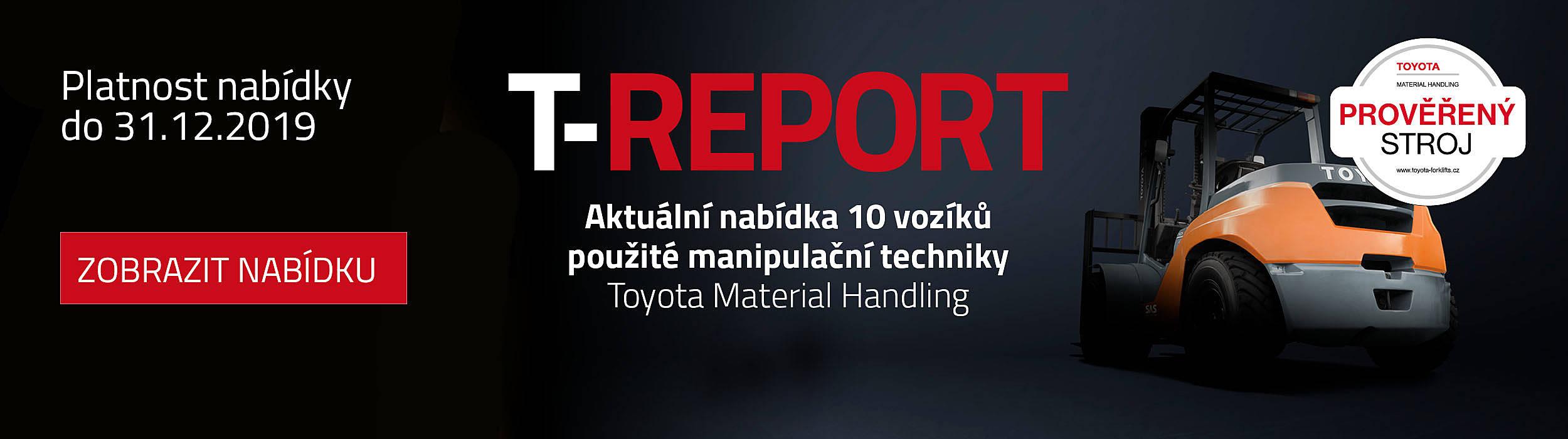 T-Report nabídka použitých vzv