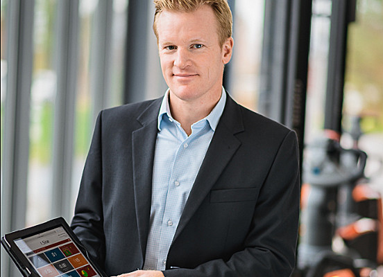 Toyota I_Site product manager Marcus Löwen