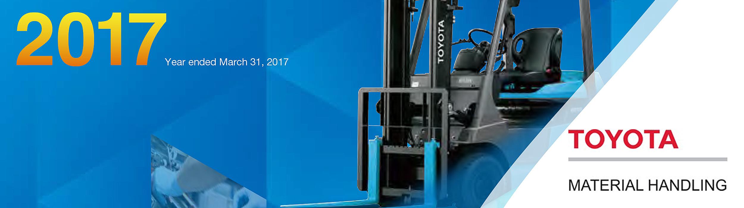 Résultats et fiscaux de Toyota Material Handling en 2017