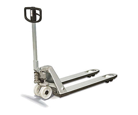 Hand pallet truck for specialised environments