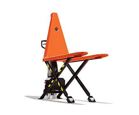 Highlifting hand pallet truck