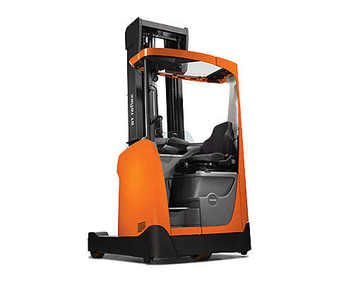 High-performance reach truck