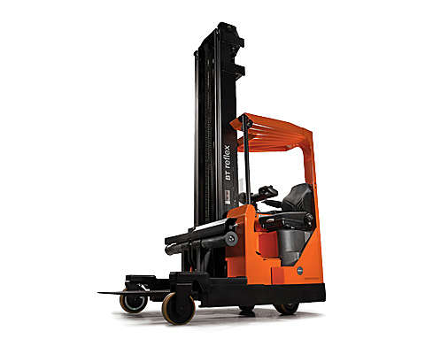 Multi-directional reach truck