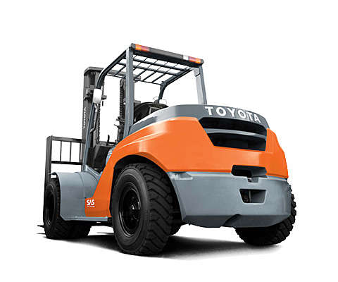 High-tonnage IC counterbalanced truck