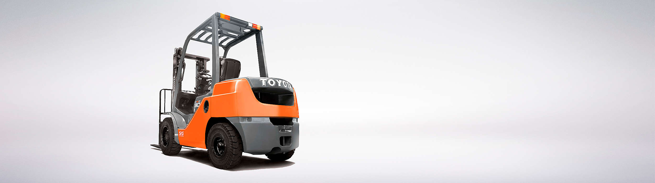 Wide Tonero range for light to heavy-duty loading and stacking.