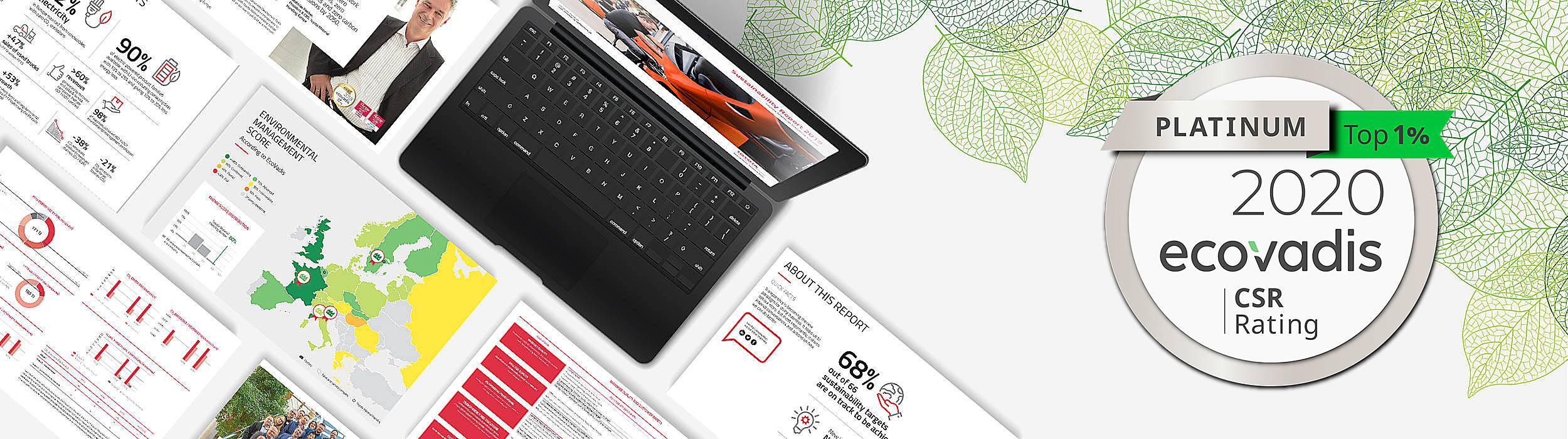 EcoVadis CSR Platinum - Toyota Material Handling