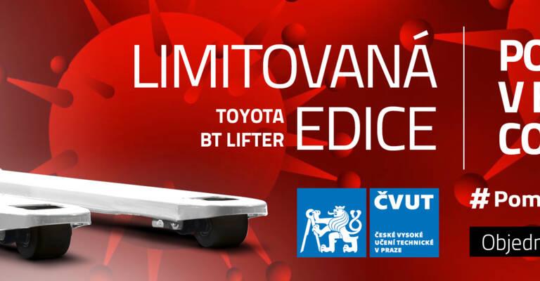 Covid boj proti němu ve spolupráci s ČVUT a Toyota Material Handling CZ - vývoj ochranných pomůcek