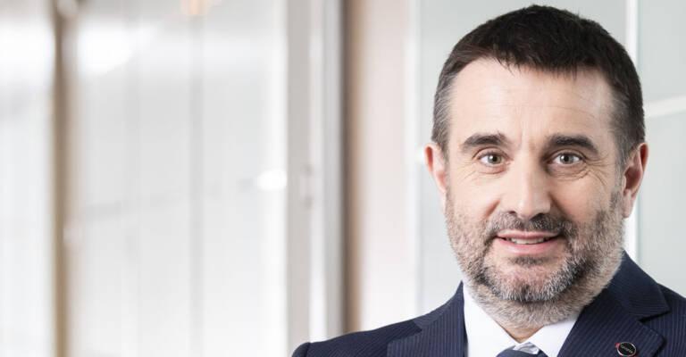 Eric Loustau, PDG de Toyota Material Handling France.