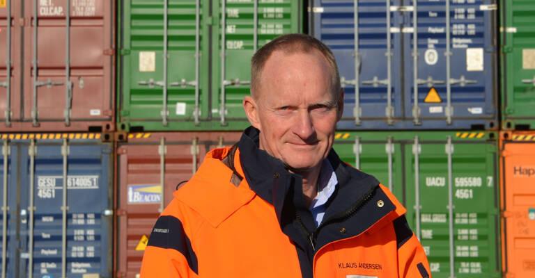 Administrerende direktør i Fredericia Shipping, Klaus G. Andersen