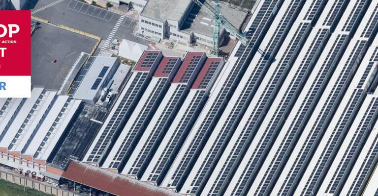 imagen aérea con logo CDP 2020