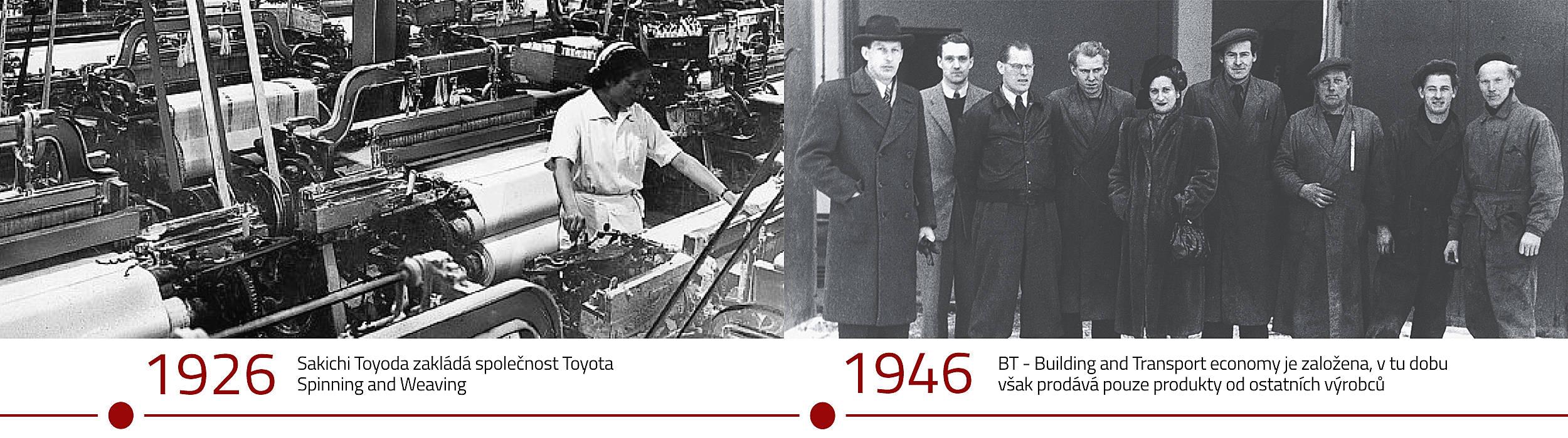 Historie Toyota Material Handling