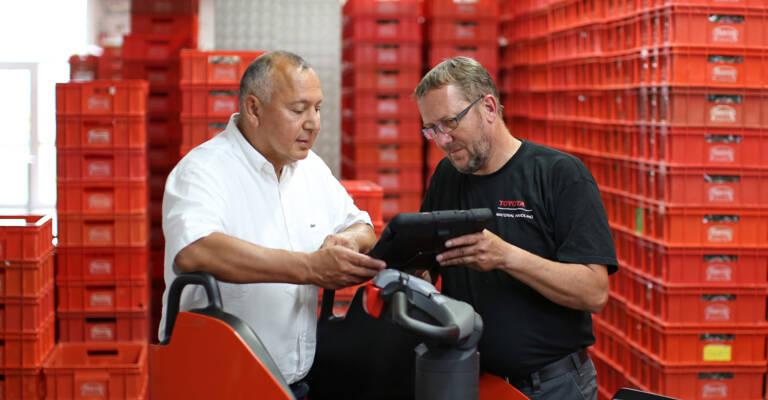 På Toyota Material Handling förstår vi dina behov