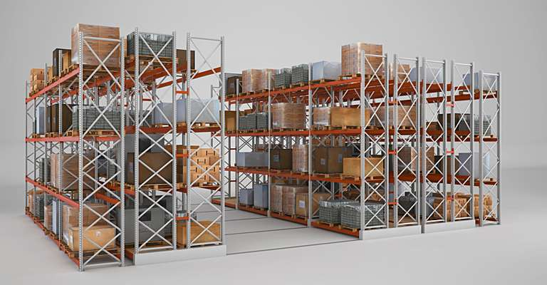 Light shelving racking