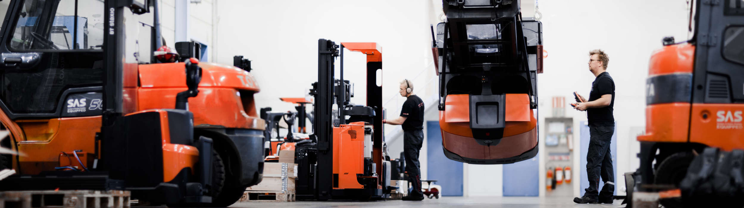 Technician Training Is The Key To Efficient Forklift Service