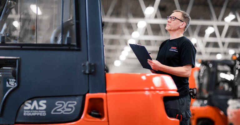 forklift repair service Toyota