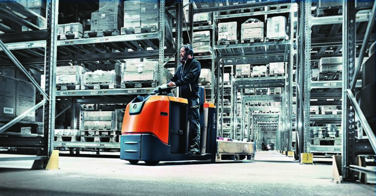 Order picking forklifts from Toyota